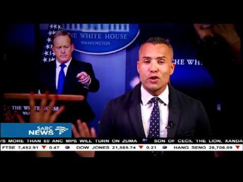 White House Press Secretary Sean Spicer resigns