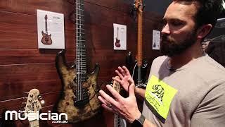 NAMM Show 2019: Ernie Ball Music Man Jason Richardson 7 String Cutlass