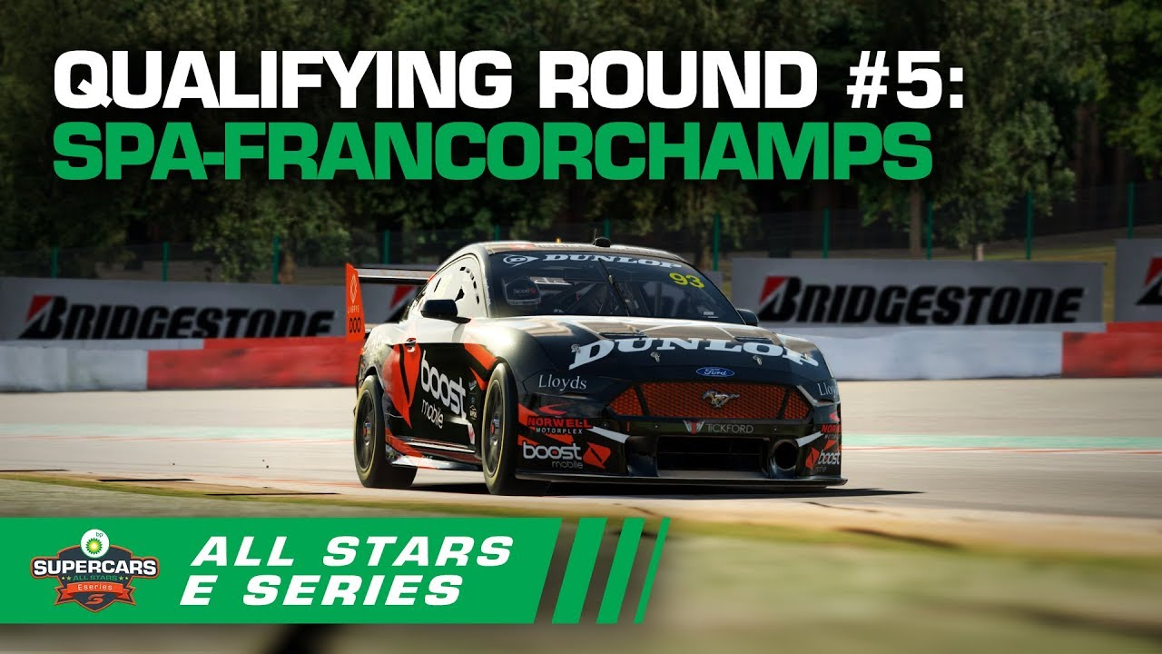 Qualifying Round #5: Spa-Francorchamps - BP All Stars Eseries | Supercars 2020