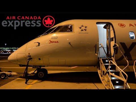 [4K] Flight Report   Air Canada Express   Dash 8 Q400   Economy   Toronto -Quebec City
