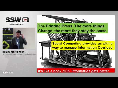 Daniel McPherson: Social Computing - Highlights Part 1