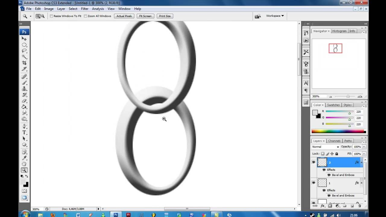 Tutorial - Chains In Photoshop