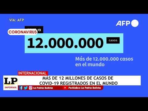 Más de 12 millones de casos de Covid-19...