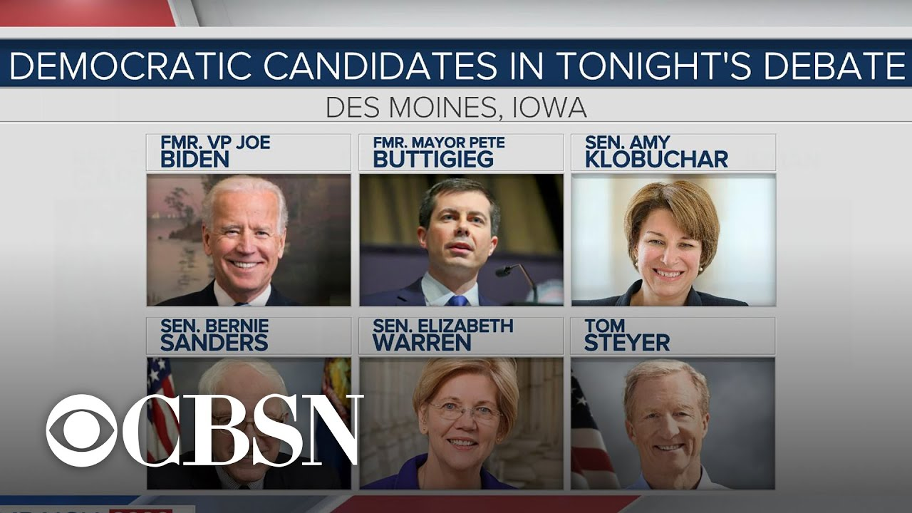 Democratic candidates prepare for Des Moines debate