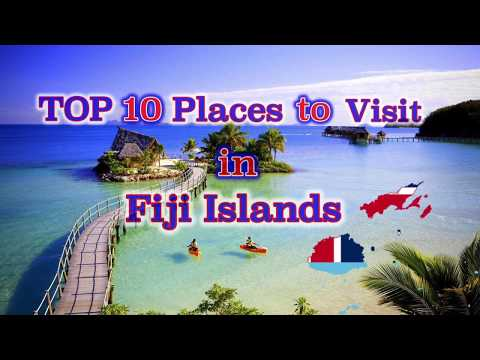 TOP 10 Places to visit in Fiji Island.