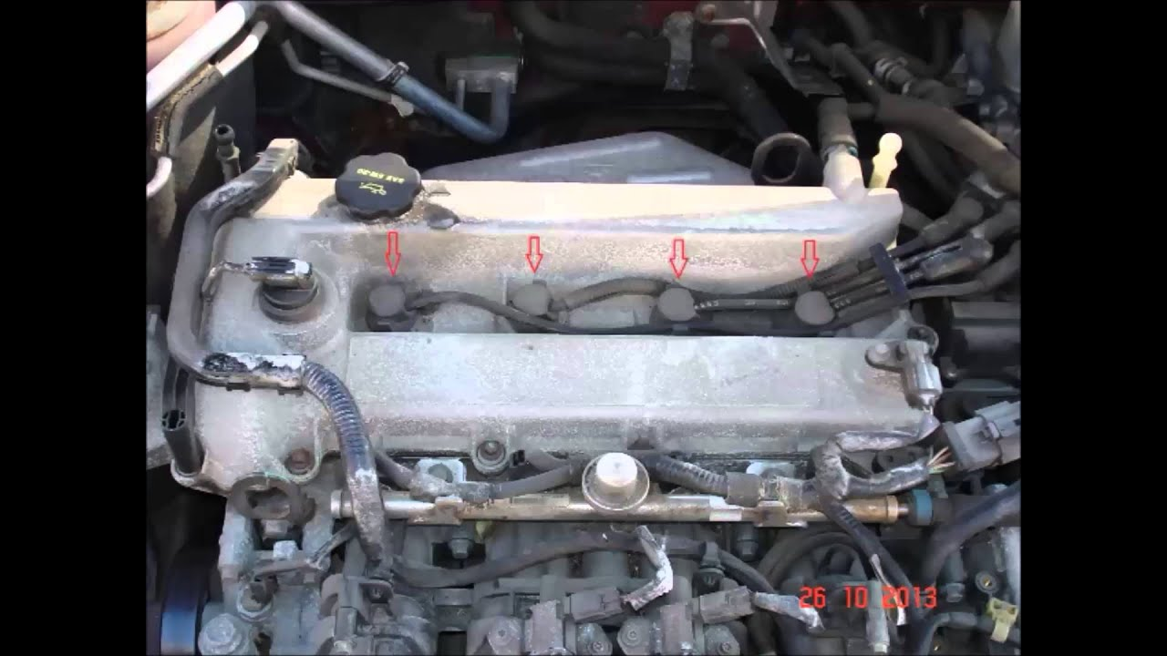 how to replace mazda 6 spark plug youtube. Black Bedroom Furniture Sets. Home Design Ideas