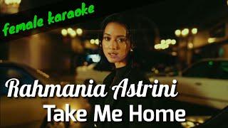 Take Me Home - Rahmania Astrini (female karaoke akustik)