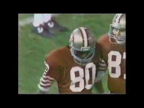 Rookie Jerry Rice goes deep