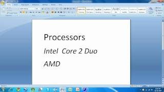 What Processor Should I Have for Windows 7?