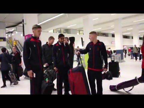 The Lancashire squad depart for pre-season tour to Dubai