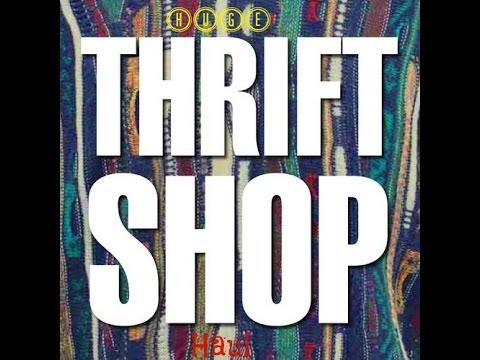 Major Thrift Haul 2013 |  DIY | 2013 Fall LookBook and Trend Forecast