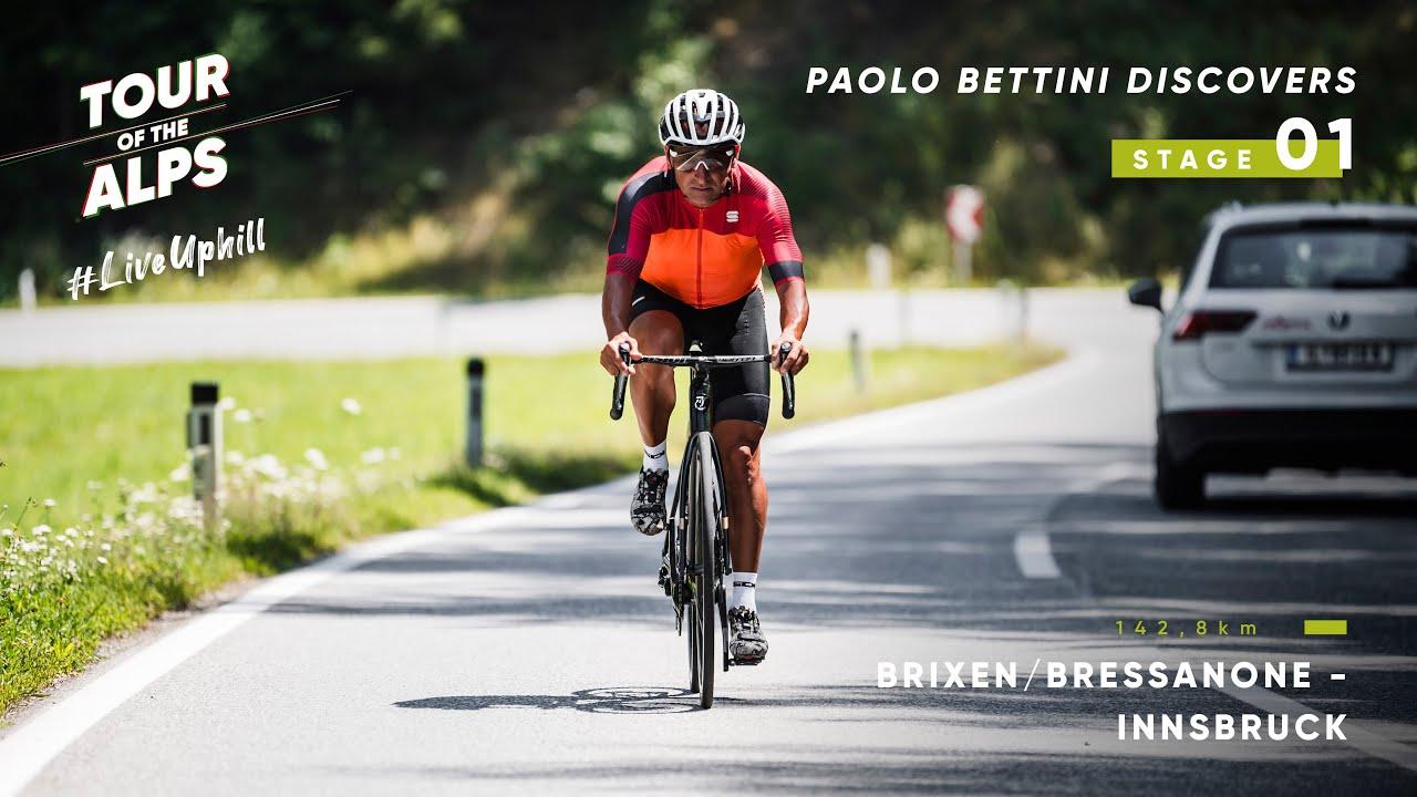 #TouroftheAlps 2021 - Paolo Bettini discovers Stage 1