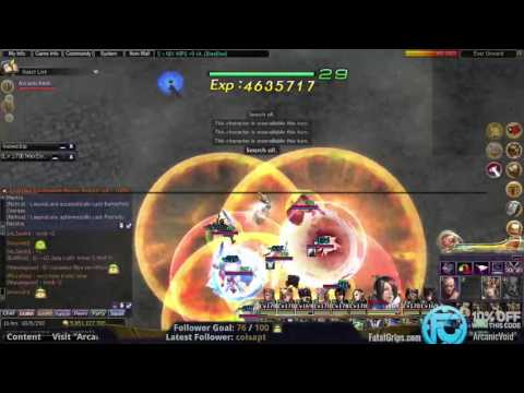 Atlantica Online - Gold Dragon Cave and Revolution GD's - 11/16/2016