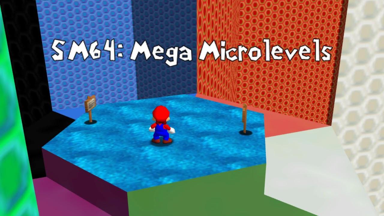 Super Mario 64: Mega Microlevels