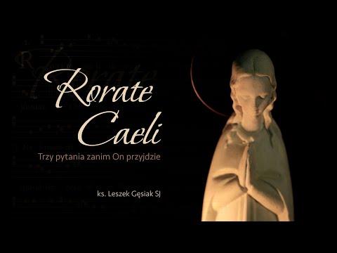 #RorateCaeli - zaproszenie na krótkie rozmyślania adwentowe z ks. Leszkiem Gęsiakiem SJ