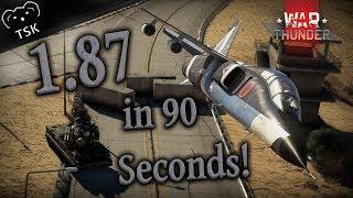 War Thunder 1.87 Locked On in 90 Seconds! | EVERY New Vehicle (More or Less)