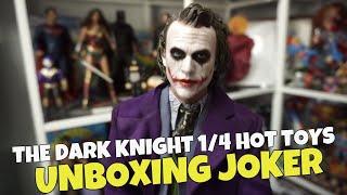 ¡Aquí está el JOKER! 😱 Abrimos la HOT TOYS 1/4 de JOKER de THE DARK KNIGHT