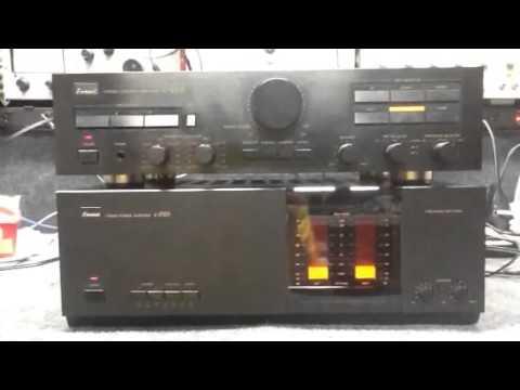 Wargos electronics sansui b 2101 and c2102