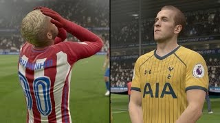 FIFA 17 Champions League - Round of 16 vs Spurs - Leg 1