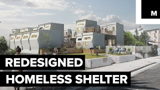 Communities for the Homeless Designed by Students