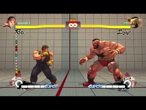 Tutorial Nociones basicas Ultra Street Fighter IV