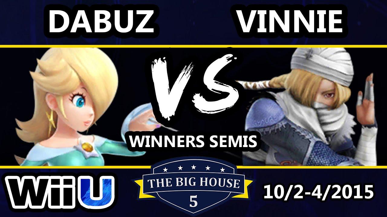 TBH5 - iQHQ | Dabuz (Rosalina) Vs. iQHQ | Vinnie (Sheik) SSB4 Winners Semis - Smash Wii U