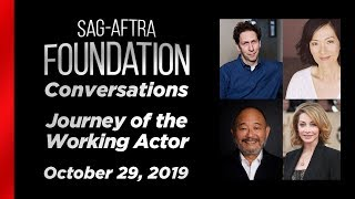 Conversations: Journey of the Working Actor