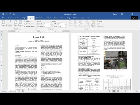 How To Prepare Research Paper For Publication In MS Word (Easy)