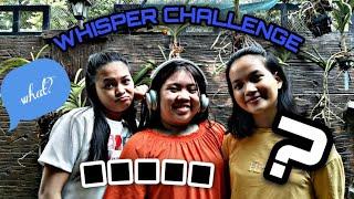Whisper Challeng   Vlog 01  RPL Sister