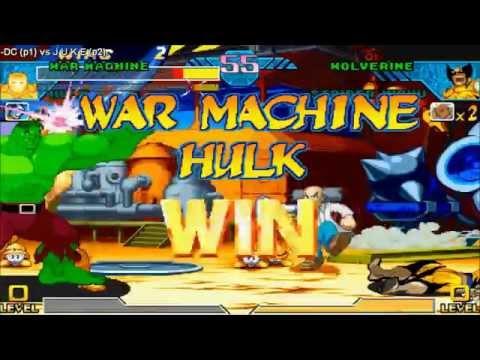 Repeat [HD] - Fightcade - Marvel Vs Capcom - DC(USA) Vs