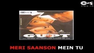 Mere Khwabon Mein Tu - Bollywood Sing Along - Gupt - Kumar Sanu & Alka Yagnik