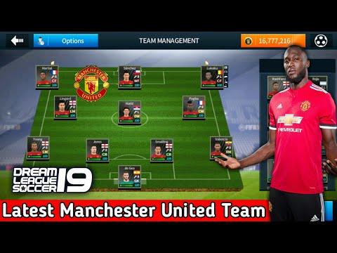 buy popular 6dab3 62b5f Create Manchester United Team ★ Kits Logo & Players ★ Dream League Soccer  2018