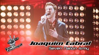 joaquim cabral 7 nation army   gala   the voice portugal