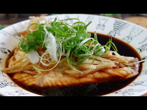Quick & Easy! How To Steam Fish Fillet In Ginger Soy Sauce 酱油姜汁蒸鱼 Chinese Steamed Fish Recipe