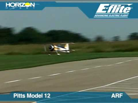 Pitts Model 12 15e ARF by E-flite
