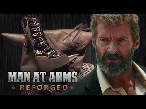 Logan X-23's Claws - MAN AT ARMS: REFORGED