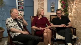 MAMMA MIA 2 Interviews: Colin Firth, Christine Baranski, Amanda Seyfried, Lily James, Pierce Brosnan
