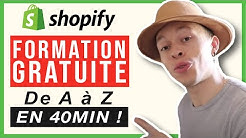 Comment Cr?er Une Boutique Shopify En 40min Chrono! - Dropship' Xtreme - Jour 2/7