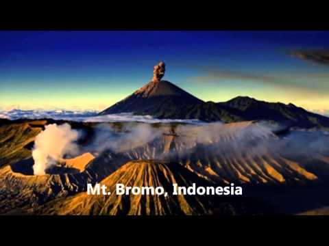10 Most Amazing Volcanoes Around The World