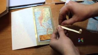 """DIY #124 Открытка для мужчины """"Карта"""" своими руками, очень просто сделать"""