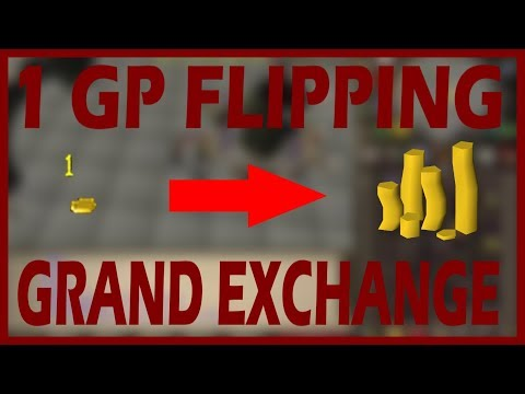 [OSRS] 1 GP to 1M GP at the Grand Exchange!