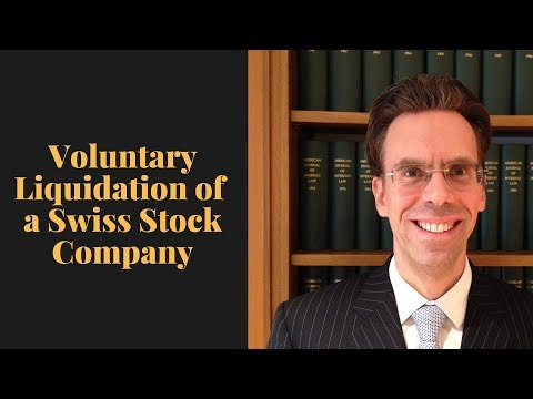 Voluntary Liquidation of a Swiss Stock Company