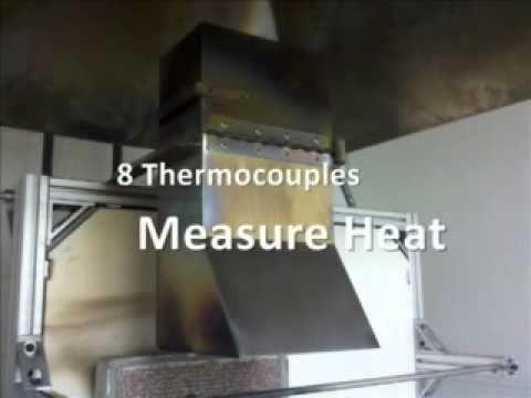 astm e162 fire testing at nta laboratory youtube rh youtube com Mindy E162 Radiant Panel Class 1