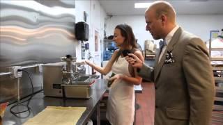 Sebastian Rusk shows 100% Organic Cold-Pressed Juicing Techniques at DeliverLean.com