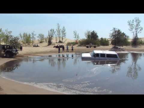 05-18-13 - Silver Lake Sand Dunes - Stuck Truck #2