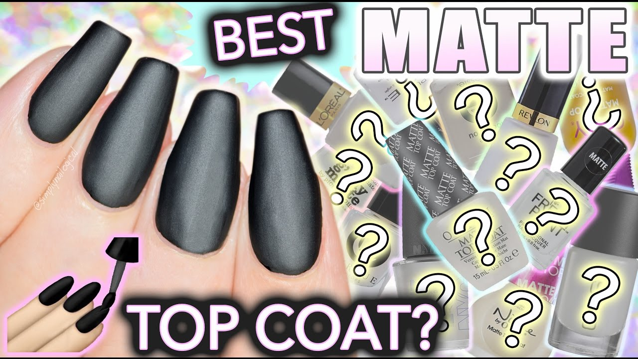 Best Matte Top Coat For Nails