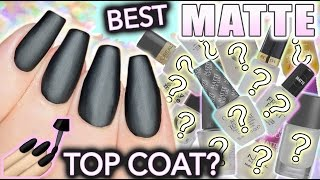 Best MATTE top coat for nails?! by : Simply Nailogical