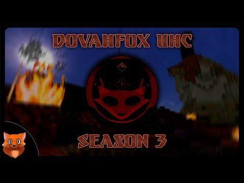 A DEAD-LY START! | Dovahfox UHC S3 E1 (Minecraft)