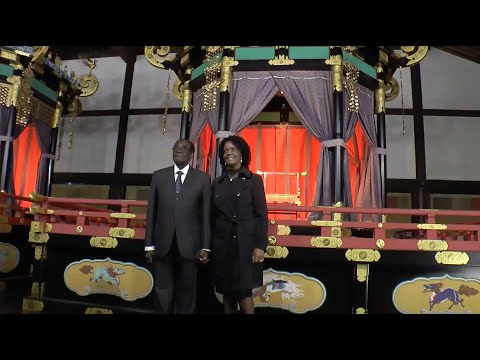 President of the Republic of Zimbabwe visits Kyoto