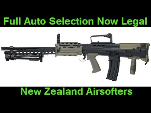 Full Auto on Airsoft Guns Now Legal in New Zealand!